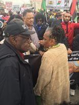 Re. Jesse Jackson and Jubilee founder Faya Rose Toure