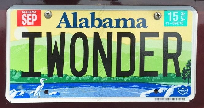 Alabama Car Tags >> More Alabama Personalized License Plates That Will Leave You