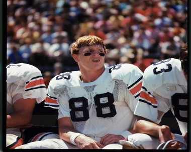 Former Auburn wide receiver Terry Beasley still holds most of the school's receiving records. (File photo)