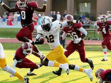 D'haquille Williams picked up All-American honors as a freshman at Mississippi Gulf Coast Community College. (Courtesy MGCCC)