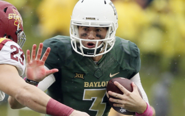 Jarrett Stadium face Iowa State at Baylor in 2015. (Associated Press)