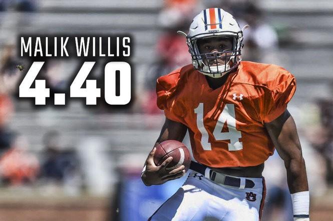 Malik Willis Auburn Tigers Football Jersey - White