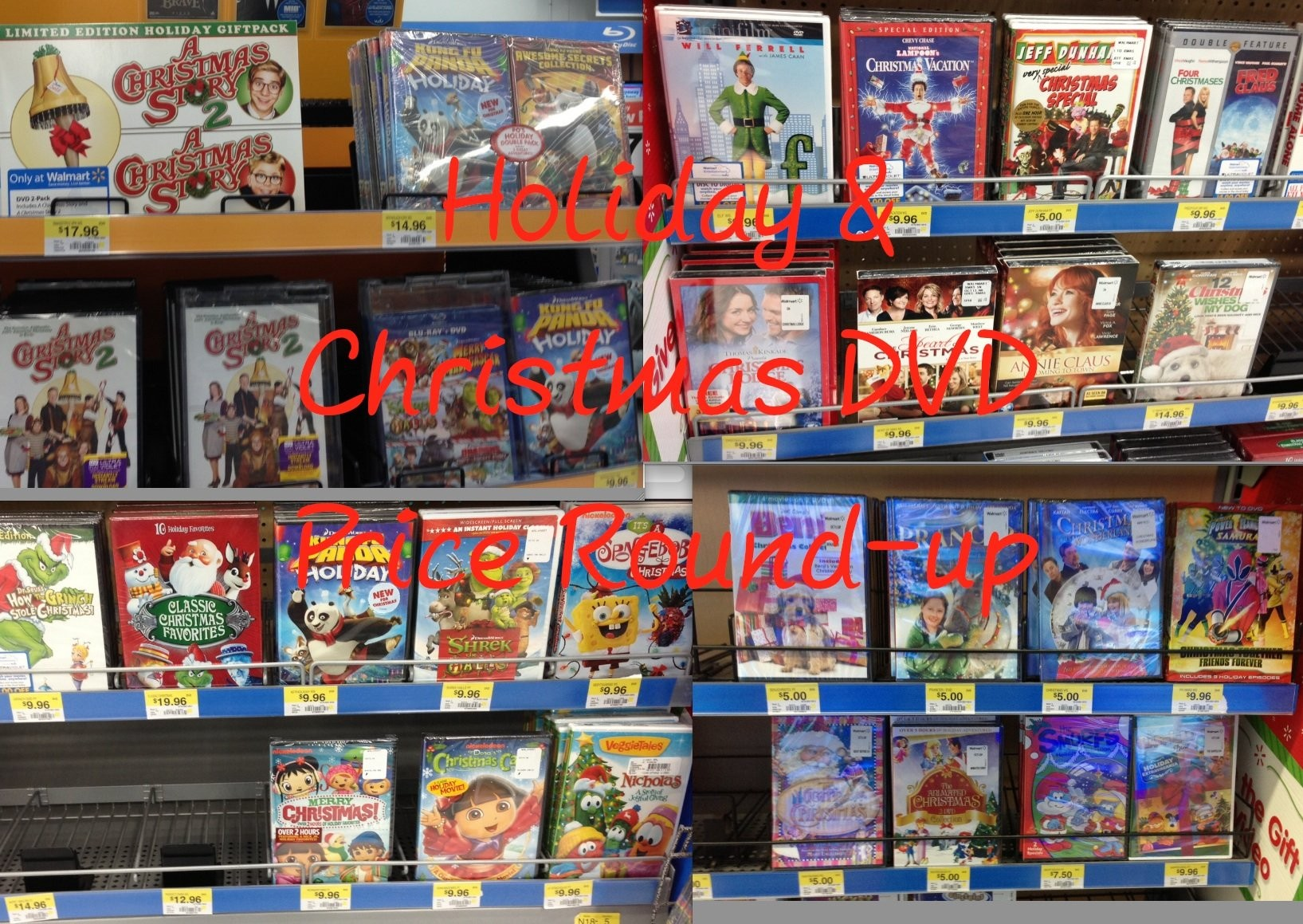 Christmas Holiday Movie Dvd Title Price Round Up Bargain Mom Al Com