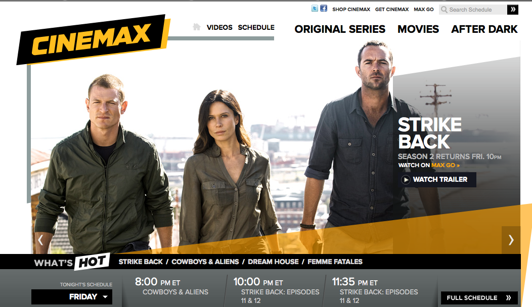 Free Cinemax Preview for DirecTV & Dish Network today through Aug