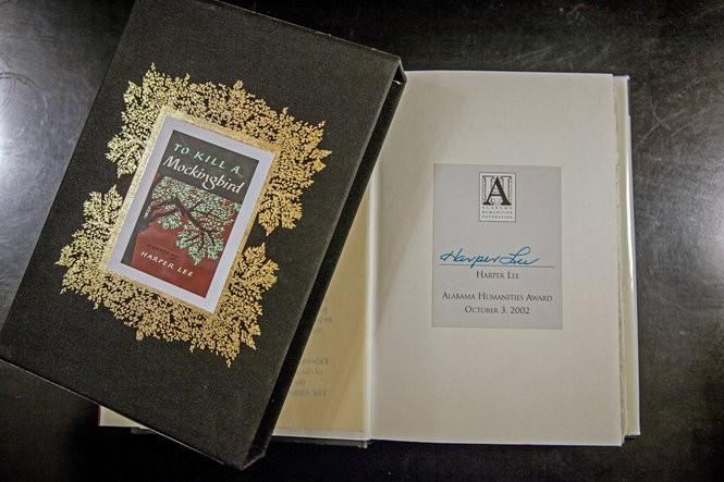 Alabama Booksmith has a signed bookplate copy of Harper Lee's To Kill a Mockingbird for sale.