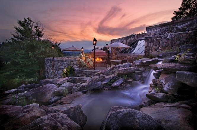 The Omni Grove Park Inn Spa in Asheville.