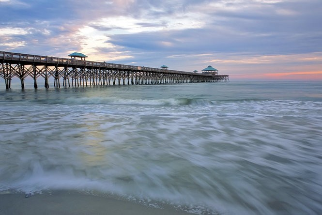 Folly Beach Pier.