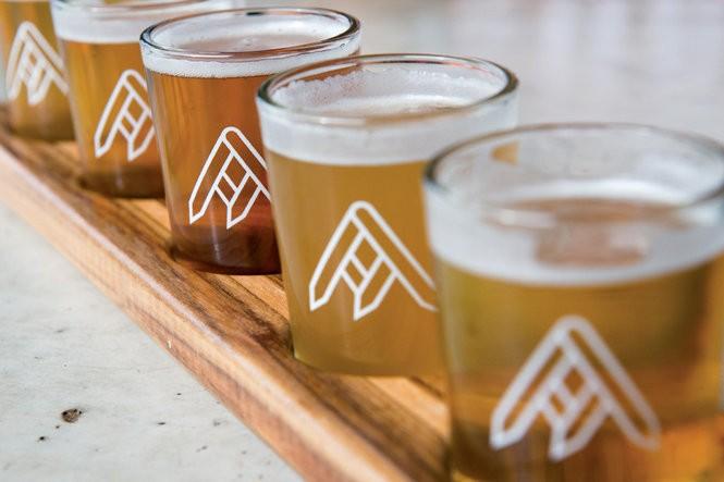 Beer from Ratio Beerworks.