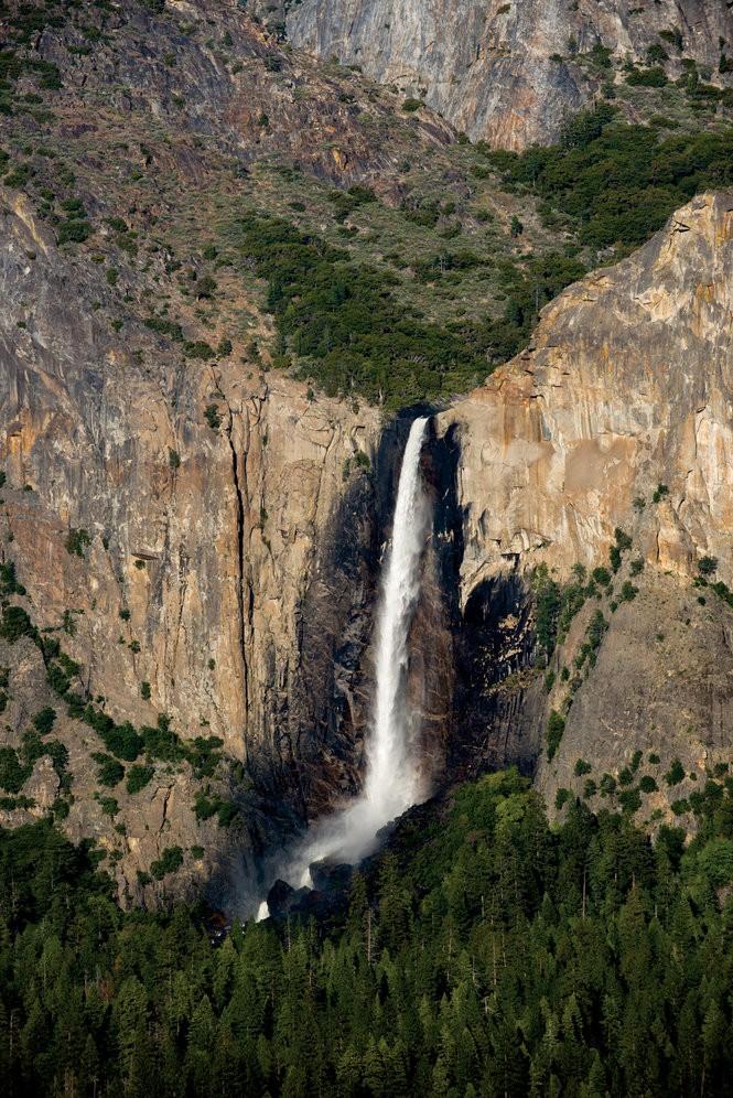 A view of Bridalveil Falls.