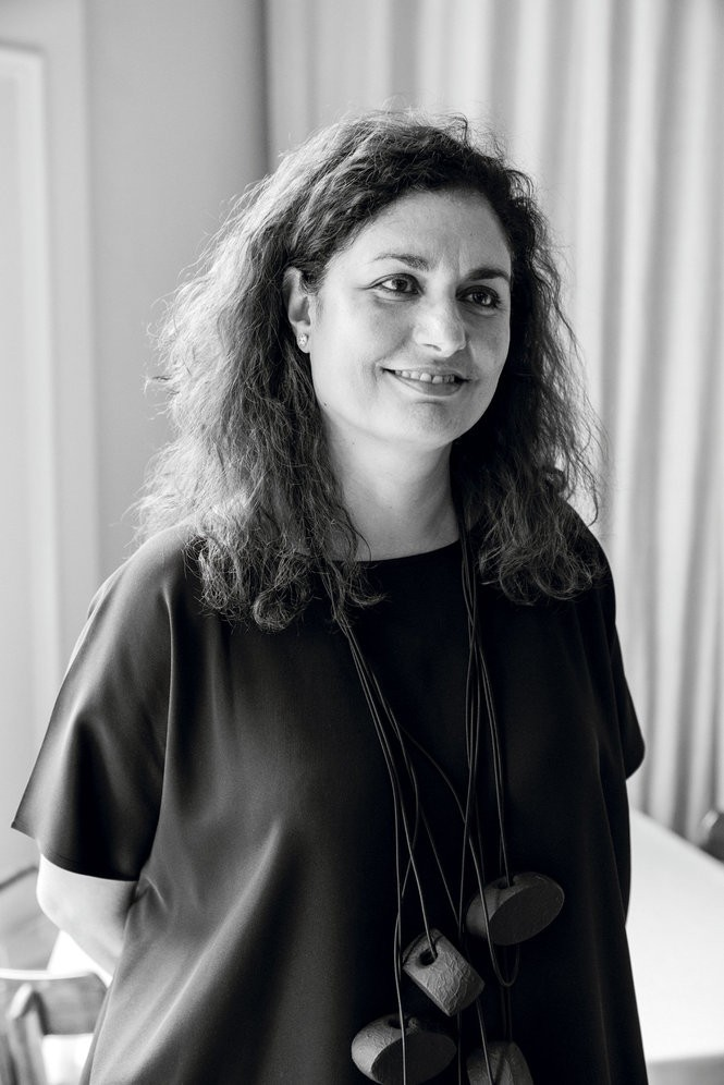 Pardis Stitt manages front of house operations at Bottega. Photo by Cary Norton.