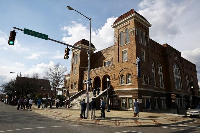 16th Street Baptist Church. Photo by Brynn Anderson.
