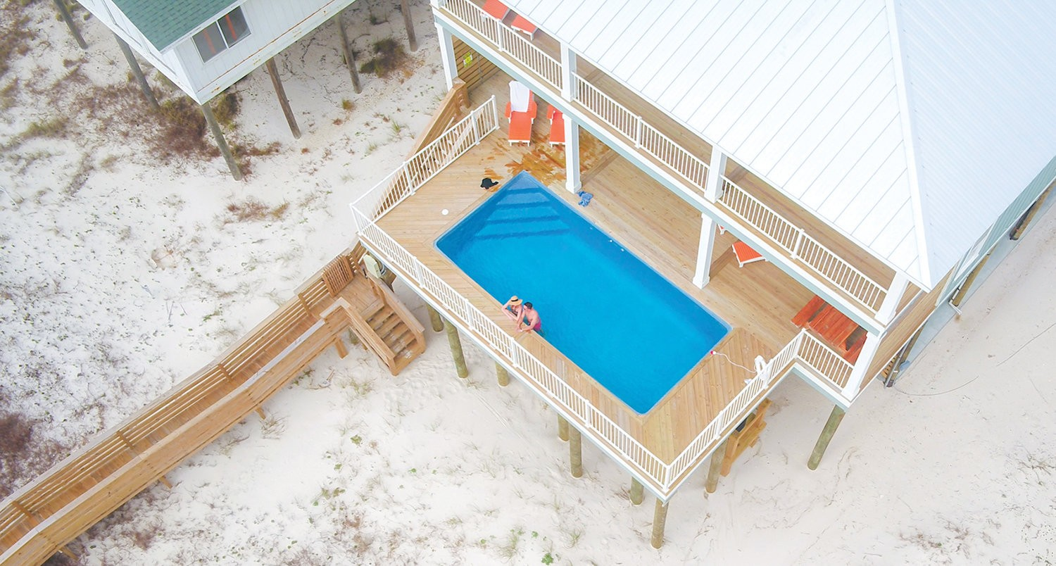 Soak up the sun at one of these amazing Gulf Coast rentals