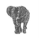 Remon clothing company has a trademark pending on this elephant. the University of Alabama has until Nov. 20 to oppose and had gotten an extension.