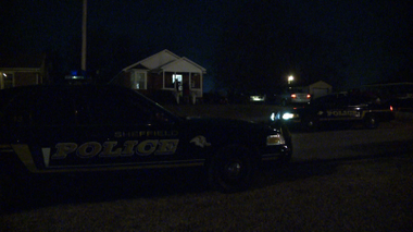 Sheffield police are investigating a shooting death that happened during a possible home invasion on Friday, Feb. 22, 2013. (Contributed by WHNT News 19)