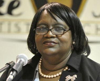 Huntsville City School Board member Laurie McCaulley. (AL.com/File Photo/Bob Gathany)