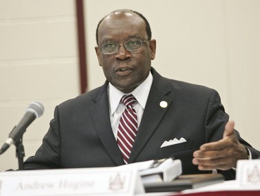 Alabama A&M President Andrew Hugine (AL.com file photo)