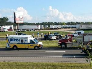 I-565 West reopened, eastbound lanes remained closed