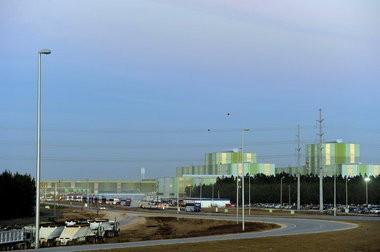The ThyssenKrupp plant, Dec. 10, 2010 in Calvert, Ala. (Press-Register file photo)