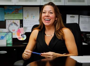 Amanda Howard, CEO of Amanda Howard Real Estate in Huntsville and Madison. (File)