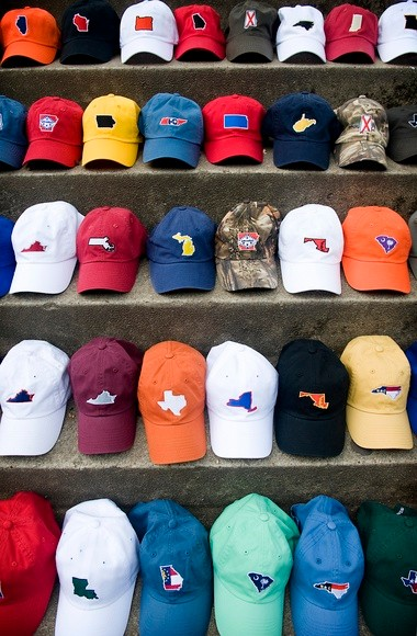 Among the apparel made by State Traditions is a collection of hats with state themes. (Special)