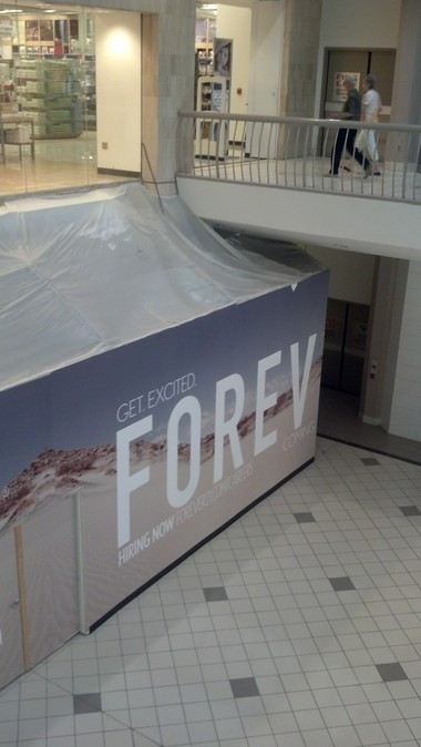 Forever 21 will quadruple its store size at the Riverchase Galleria when it moves from a space off the food court to another one beneath the Belk home store. The new store is expected to open in August. (Dawn Kent Azok/dazok@al.com)