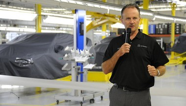 Jason Hoff is the president of the Alabama operations of Mercedes-Benz. (Joe Songer/jsonger@al.com)