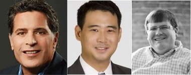 Speakers at the third annual Alabama Launchpad Innovation and Entrepreneurship Conference include Fast Company magazine editor William Taylor, UPS corporate marketing director Andrew Chang and entrepreneur Ted Alling. (Photos provided by Economic Development Partnership of Alabama)
