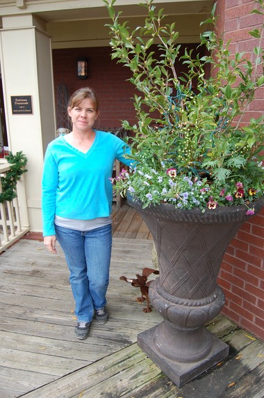 Stacy Scannell is nursery/greenhouse manager at the Huntsville Botanical Garden.