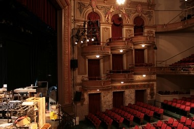 The opera boxes in the Lyric will resemble those in the Wells Theatre in Virginia. (contributed)