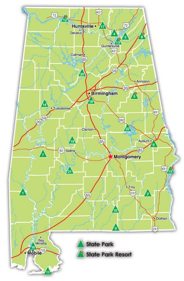 Alabama State Parks Pocket Ranger app now available; weather finally ...