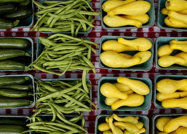 Farmers markets, like the one at Pepper Place, offer a partial solution to the food desert problem. (file)