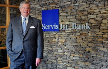 Tom Broughton, CEO of ServisFirst Bank (Tamika Moore/AL.com)