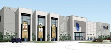 An architect's rendering of the new two-level Belk at Bridge Street Town Centre in Huntsville. (File)