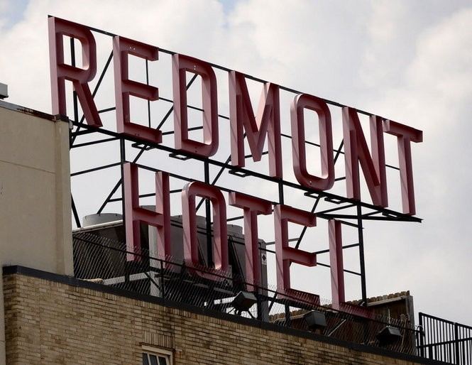 The rooftop Redmont Hotel sign (Mark Almond/AL.com file)