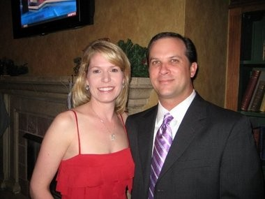 Stacy and Kevin Brown, owners of Chicken Salad Chick in Auburn. (Contributed)