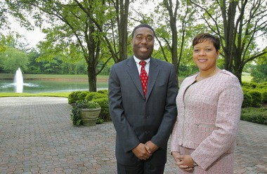 PROJECTXYZ President Larry Lewis, left, and CEO Kimberly Lewis, right. (File)
