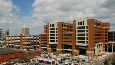 This photo from November 2004 shows UAB's North Pavillion where the emergency department is housed. (File)