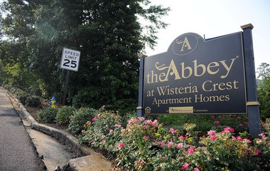 FILE- The Abbey at Wisteria Crest Apartment Homes in Hoover, Ala., on Friday, June 10, 2011. (The Birmingham News / Michelle Campbell)