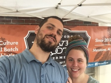 Harvest Roots owners Lindsay Whiteaker and Pete Halupka. (Courtesy photo)