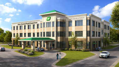 A rendering of the new outpatient surgery center at Athens-Limestone Hospital's Medical East campus near the U.S. 72-Lindsey Lane intersection. (Courtesy)