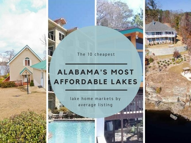 Alabamas 10 Most Affordable Lakes To Buy A House Alcom