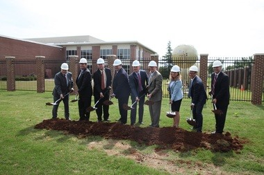 GATR and Cubic broke ground last week on an expansion project in Huntsville. (Courtesy)