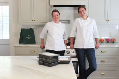 Mary Drennan and Tiffany Vickers Davis founded Nourish after an association that began as classically-trained chefs in a test kitchen.