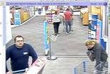 Anniston Police say this man took a television from the McClellan Boulevard Walmart on Nov. 15, 2013. (Anniston Police)