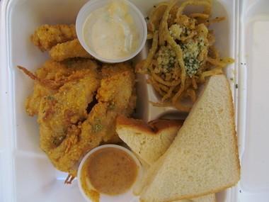 A recent Kettle n' Spouts daily special, fried fish. (Matt Wake | mwake@al.com)