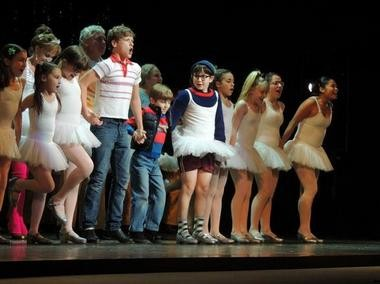 """Ben Cook leads the finale of """"Billy Elliot."""""""