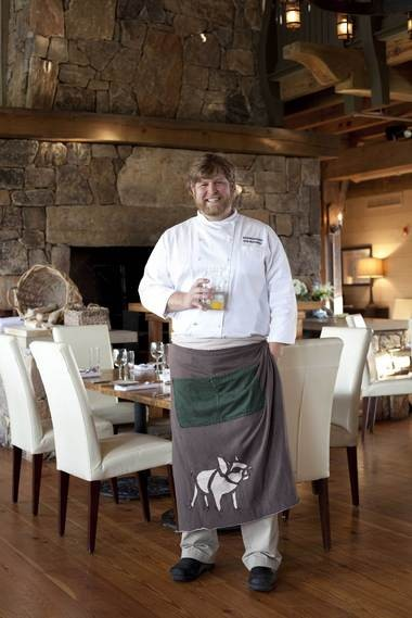 Rob McDaniel has been the executive chef at SpringHouse near Lake Martin since the restaurant opened in April 2009. (Birmingham News file/Daniel Taylor)