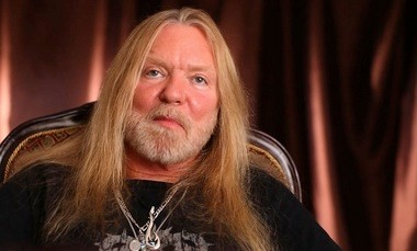 "The Allman Brothers Band's Gregg Allman is shown in the documentary ""Muscle Shoals."" (Contributed photo)"