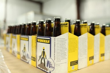 Blue Pants Brewery's Workman Ale. (Contributed photo)