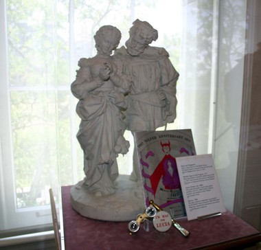 Sculptures included in The History Museum of Mobile's tribute to Mary Jane Slaton Inge. (History Museum of Mobile)